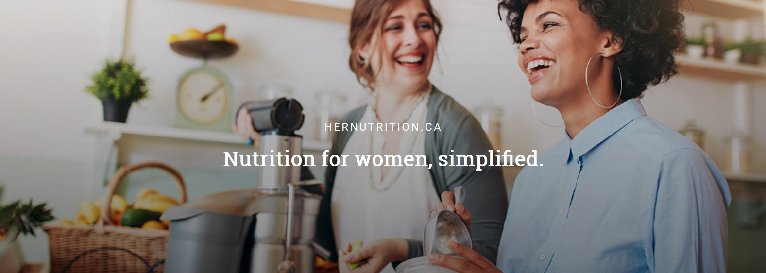 Launch of HERNUTRITION.CA – a website devoted to female nutrition