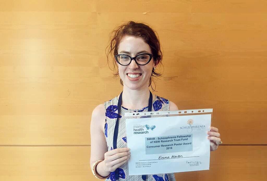 Congratulations to Emma Morton for a successful thesis defense!