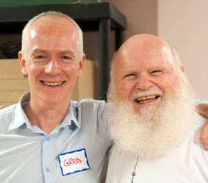 (8) CREST.BD Network Deputy Prof. Greg Murray and I, at the Bipolar Wellness Centre workshop in 2015.
