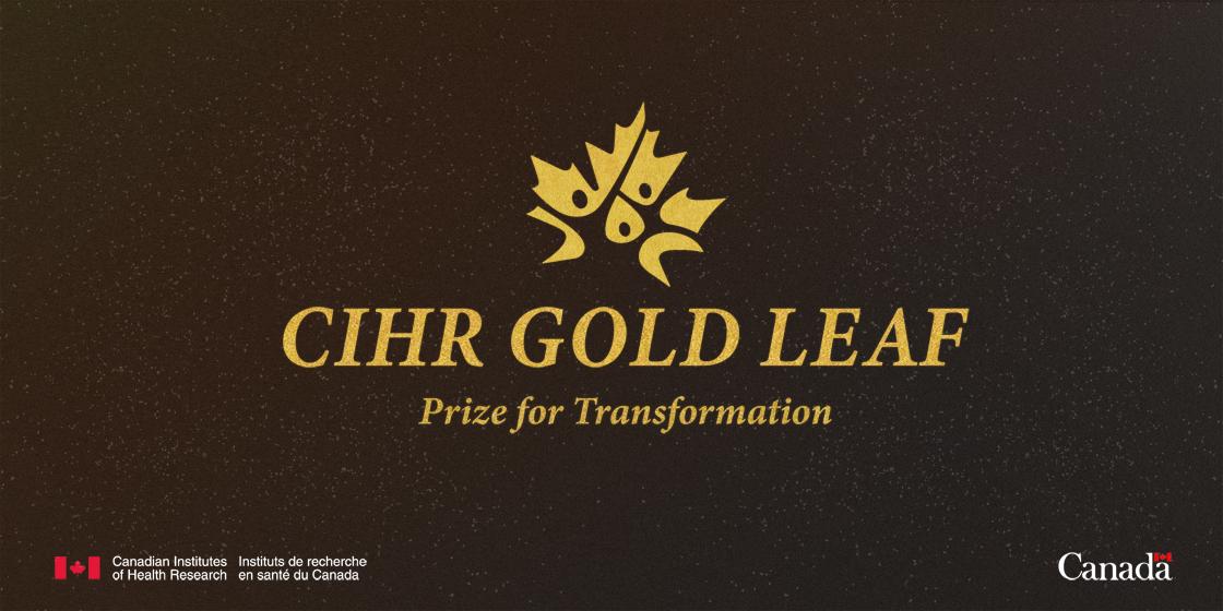 Erin Michalak and CREST.BD awarded CIHR Gold Leaf Prize