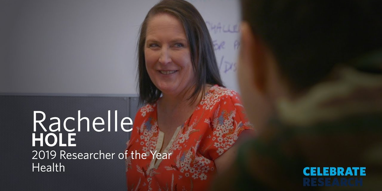 Dr. Rachelle Hole awarded UBCO Health Researcher of the Year