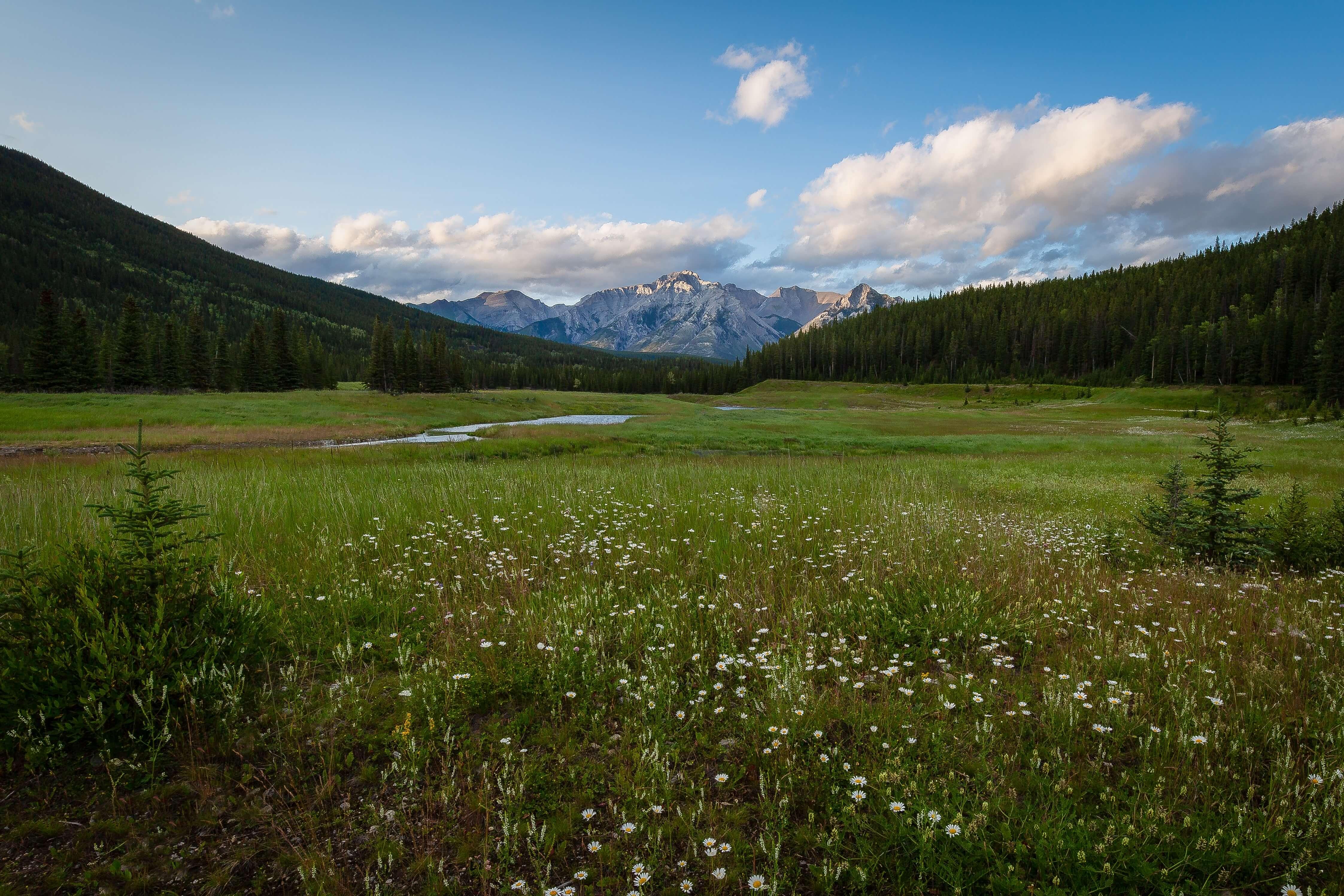 Photo of a mountainous rural area.