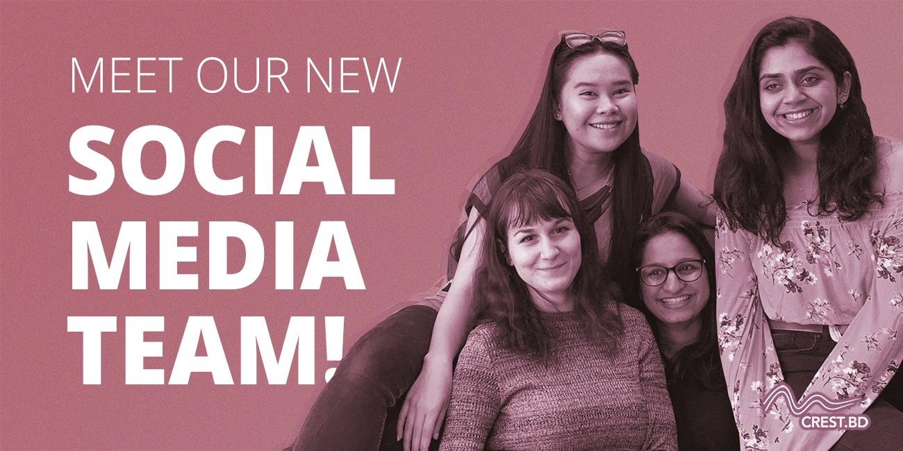 Meet our new social media team!