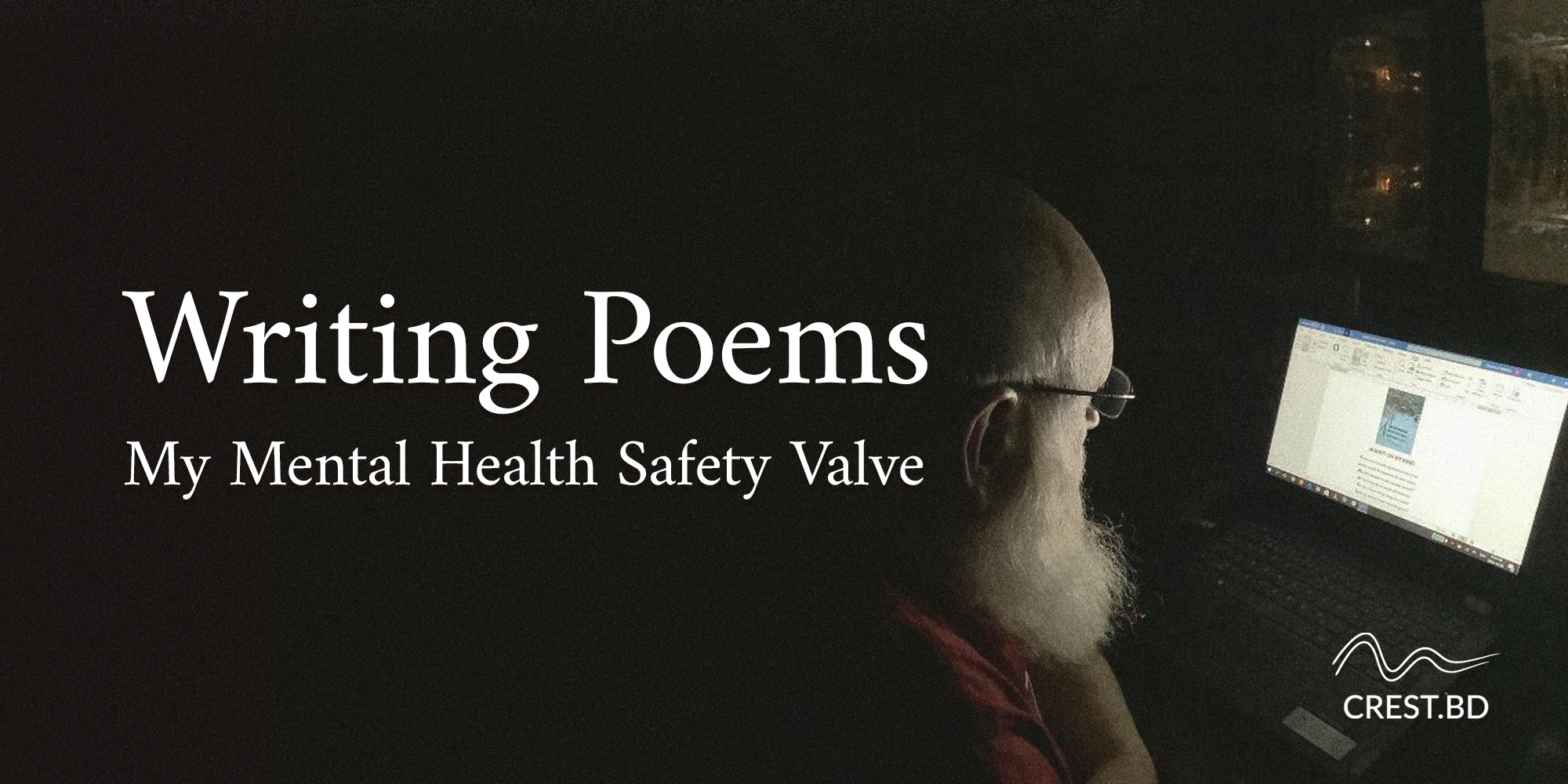 Writing Poems – One of My Mental Health Safety Valves