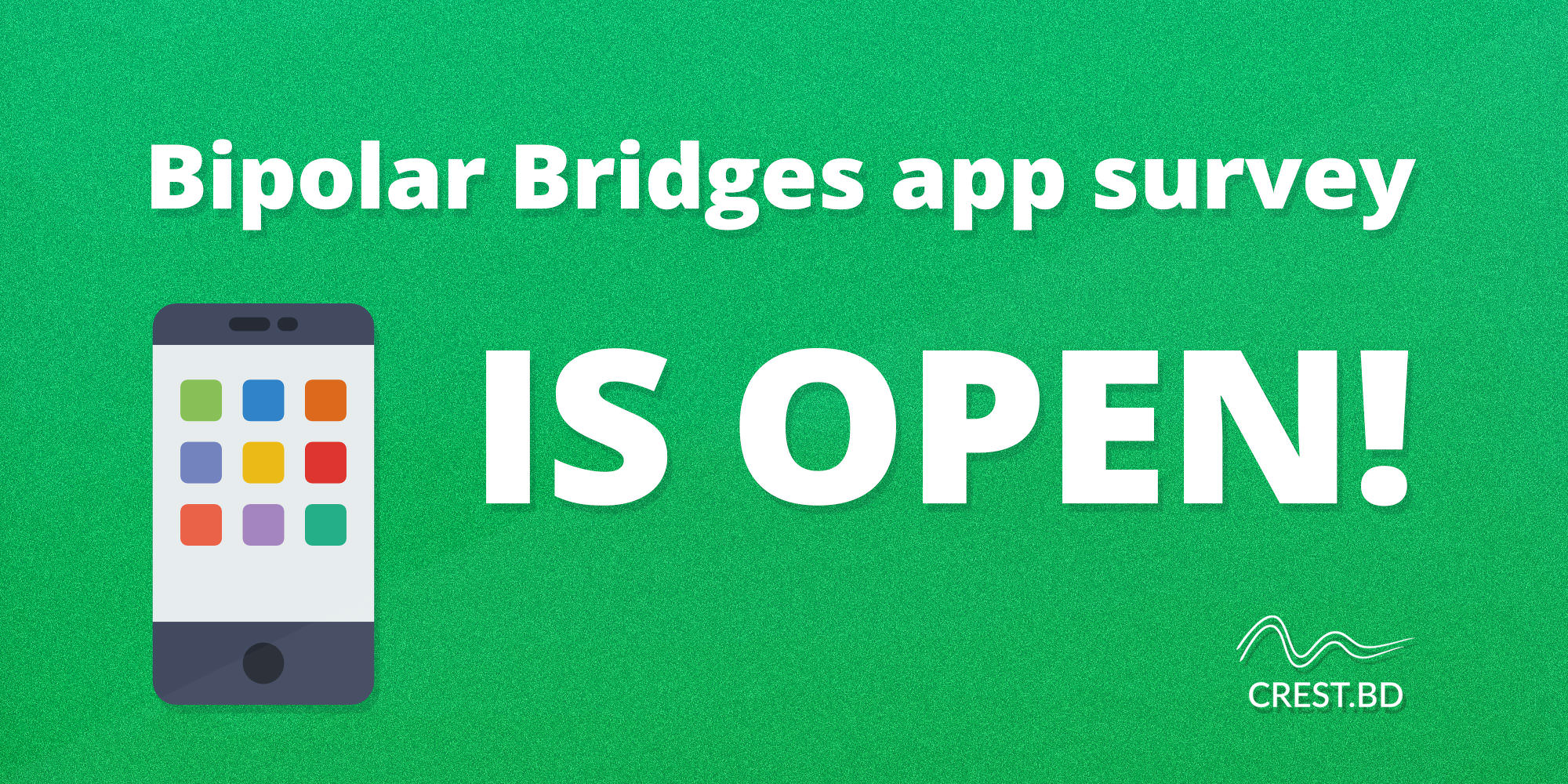 Bipolar Bridges app survey is open!