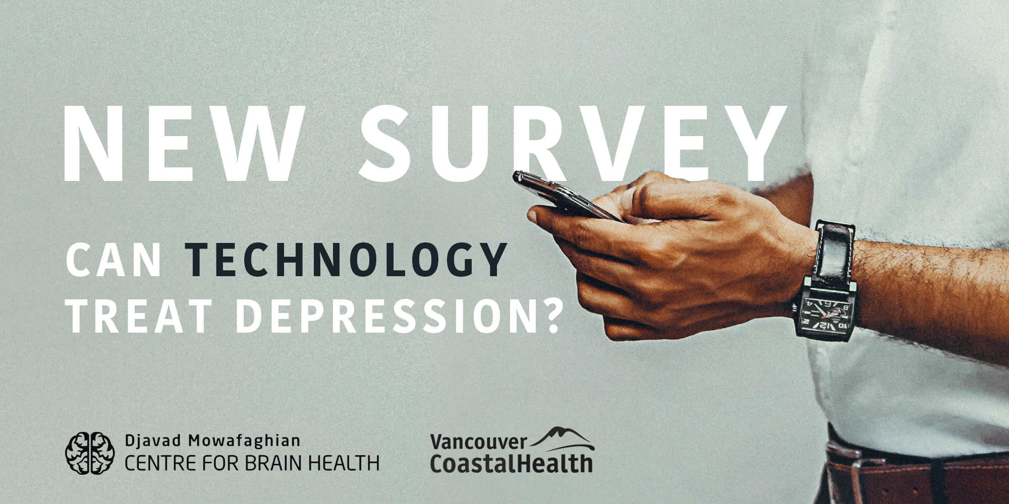 New survey! The use of technology in the management of depression