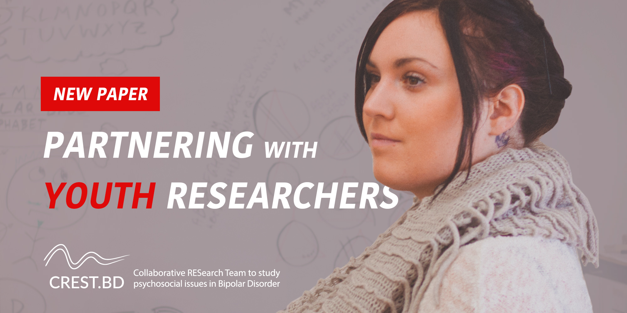 New Paper! Partnering with Youth Co-Researchers (on The Bipolar Youth Action Project)