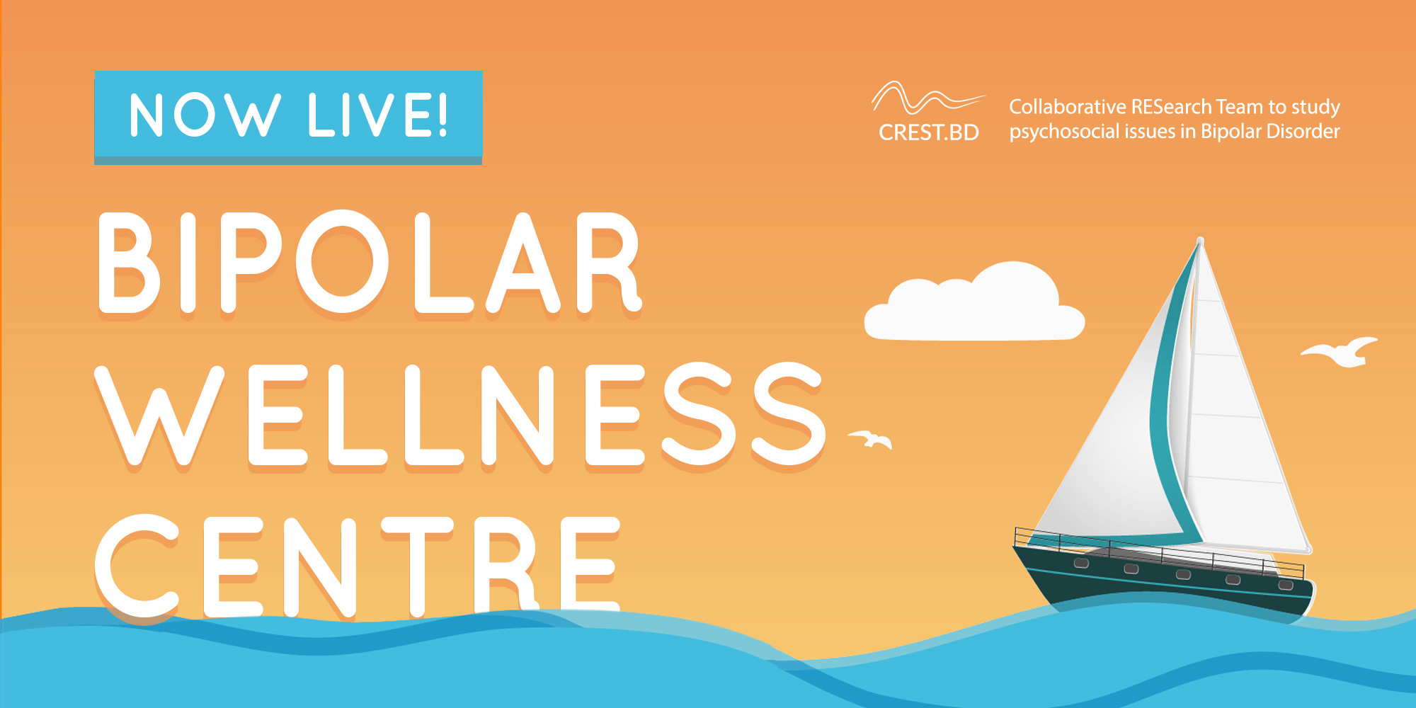 World Mental Health Day: Launching our NEW Bipolar Wellness Centre!