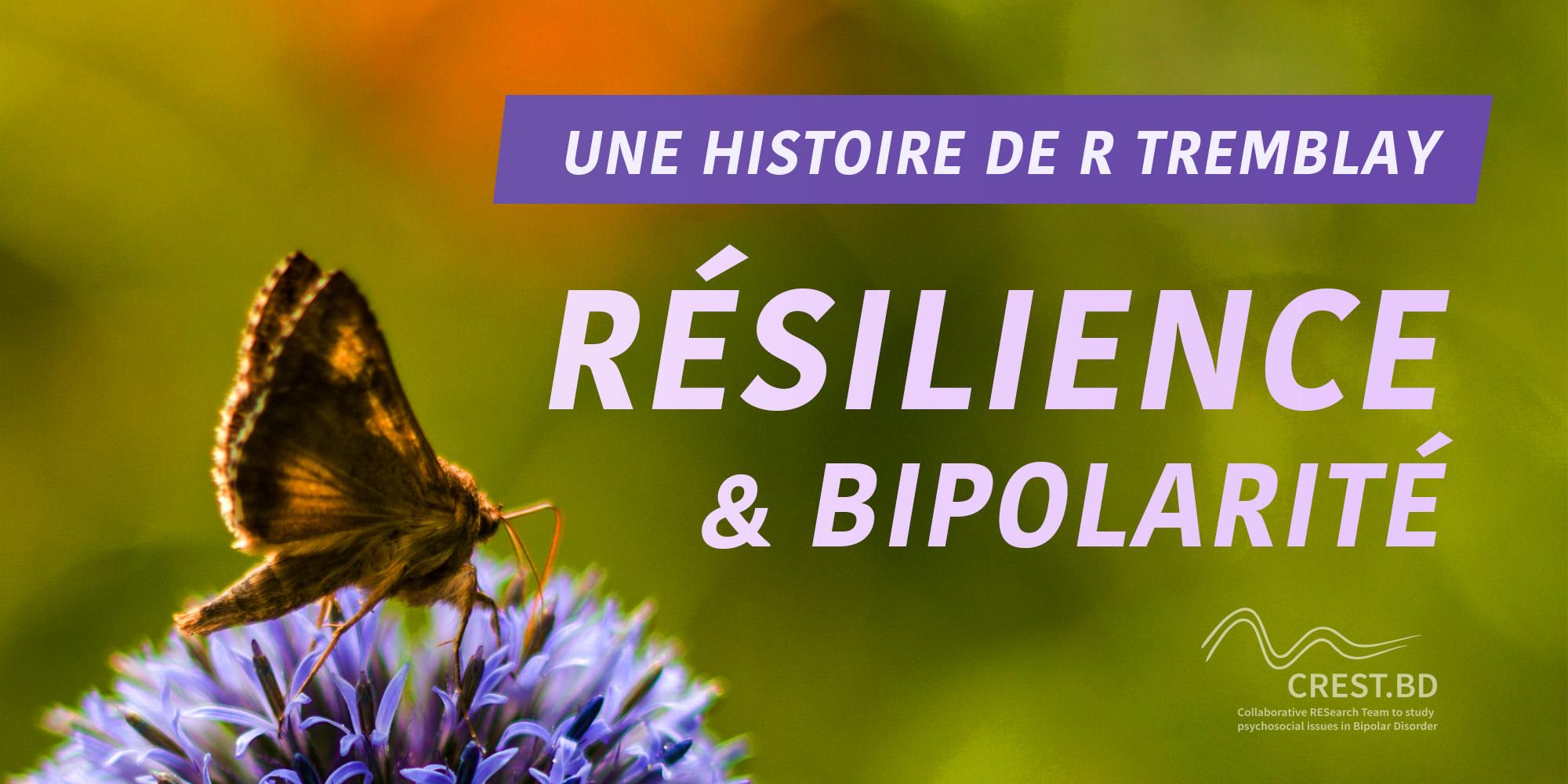 Me lier d'amitié avec mon ennemi : Bipolarité, résilience et COVID-19