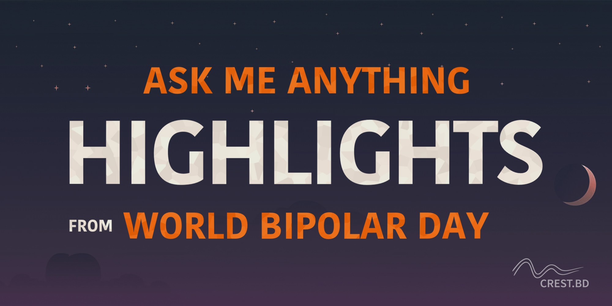 Highlights from our World Bipolar Day 2021 AMA!