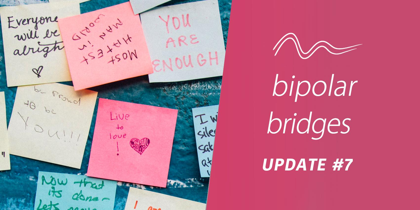 Bipolar Bridges Update #7: The App Writing Team!