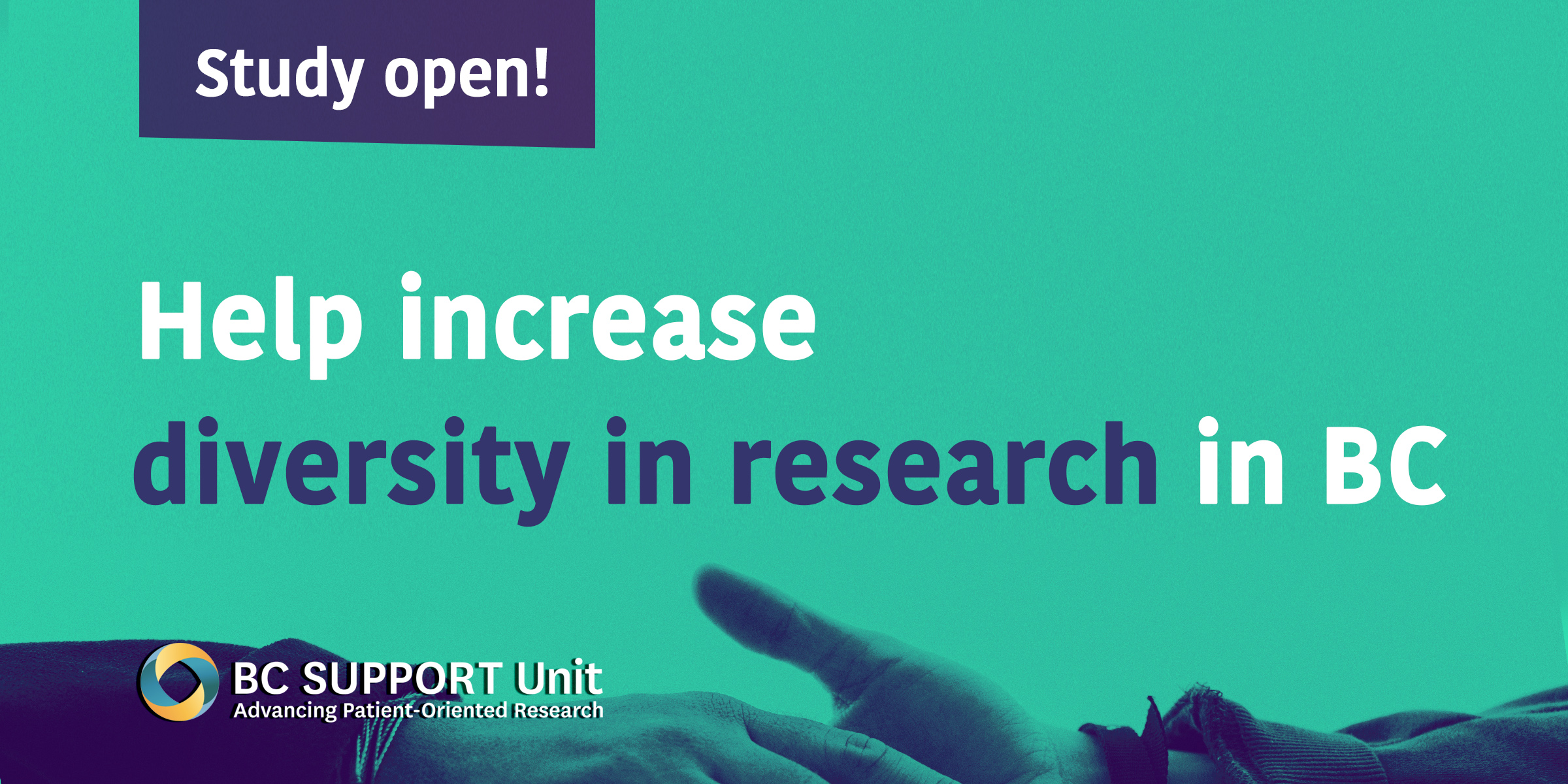 Call for health researchers: Help increase diversity in health research in BC!